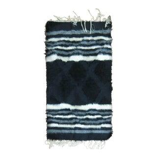 Vintage Mohair Rug, 2'6'' X 4' For Sale