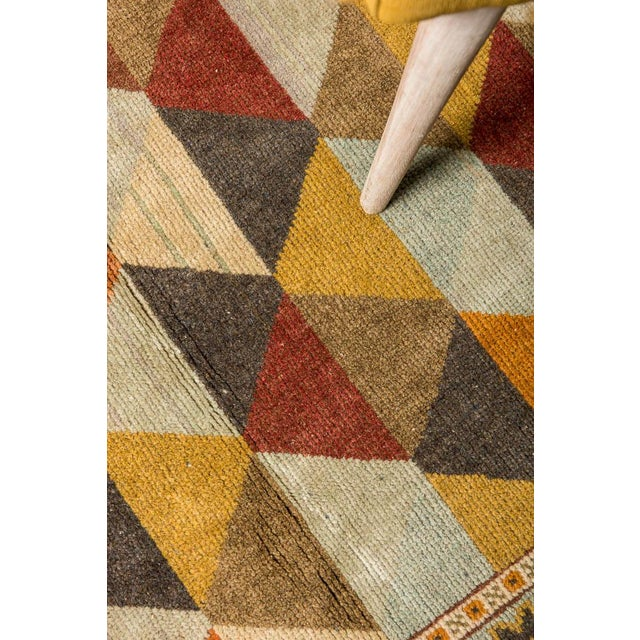 Tired of cold, colorless floors? This stylish Turkish rug will keep your feet warm and look great doing it. The tones of...