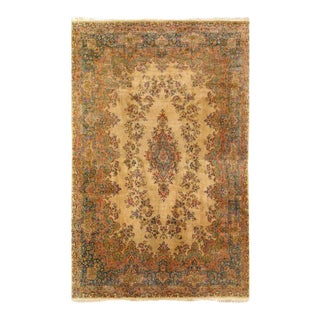 Pasargad Ivory Persian Fine Hand Knotted Kerman Rug- 11'8'' X 18'2'' For Sale