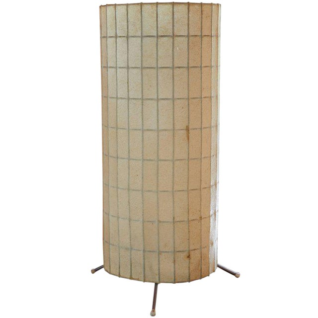 George nelson for howard miller cylinder table lamp chairish george nelson for howard miller cylinder table lamp aloadofball Images