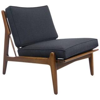 Rare Ib Kodod Larsen Slipper Chair For Sale