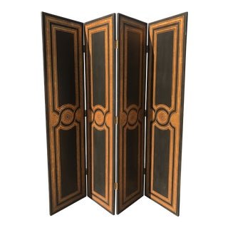 Hollywood Regency Maitland-Smith Style Room Divider/Screen For Sale