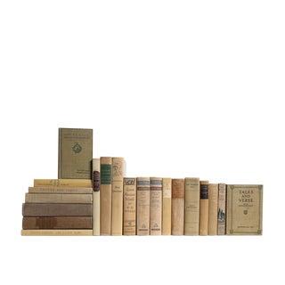 Khaki World Classics : Set of Twenty Decorative Books
