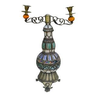 Antique Moorish Candleholders For Sale