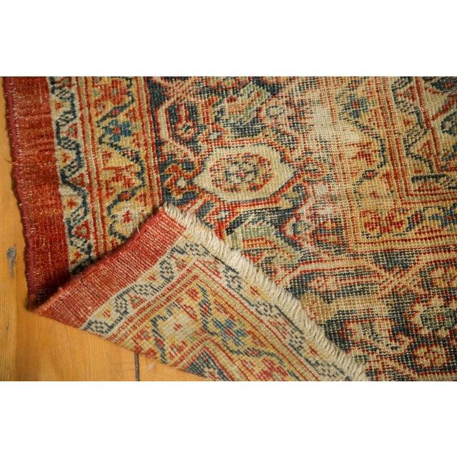 """Antique Mahal Square Carpet - 9'11"""" x 9'8"""" - Image 9 of 10"""