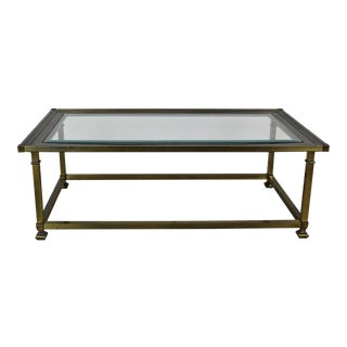 Mastercraft Rectangular Coffee Table