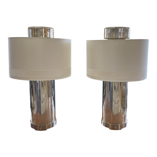 Global Views Lighthouse Lamps - a Pair For Sale