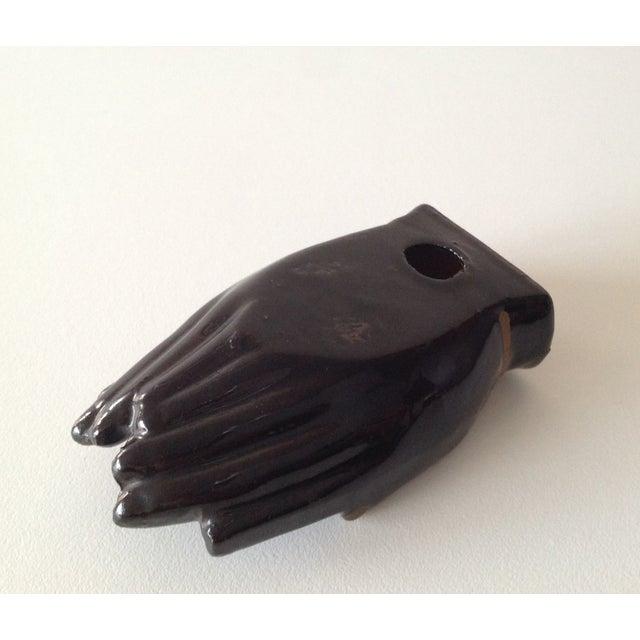 Vintage Individual Hands-Shaped Portable Ashtray - Image 6 of 8