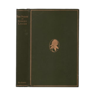 "1909 ""Poems of Sidney Lanier"" Collectible Book For Sale"