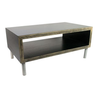 Modern Black Coffee Table For Sale