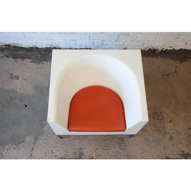 Massimo Vignelli Style Plastic Cube Lounge Chairs, 1970s For Sale In South Bend - Image 6 of 10