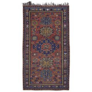 Antique Caucasian Sumak Rug