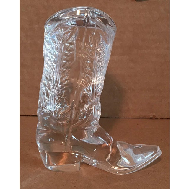 8d87951cb12c Ralph Lauren crystal cowboy boot signed paperweight. Nice little charming  and iconic Ralph Lauren collectible