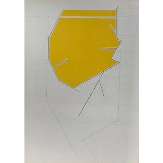 1970 Derriere Le Miroir Pablo Palazuelo Original Lithograph DM06184 For Sale
