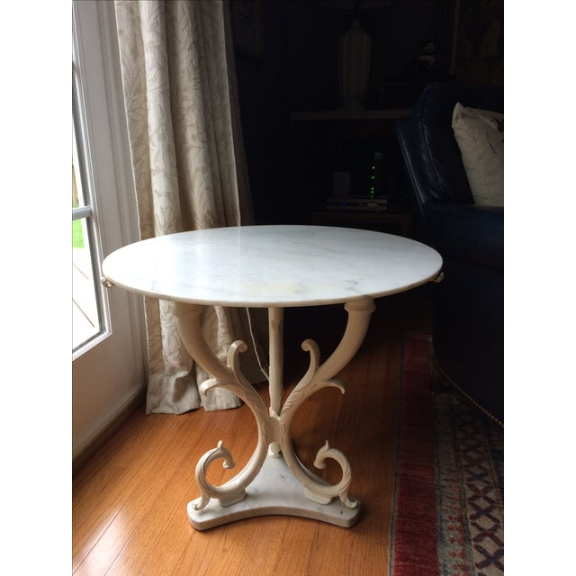 1950s Palladio Marble Side Table - Image 2 of 5