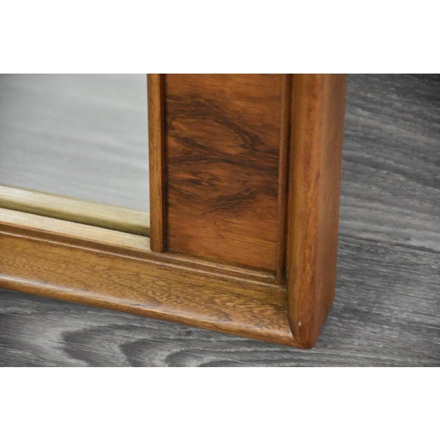 1960s Kent Coffey Perspecta Mid Century Mirror For Sale - Image 5 of 7