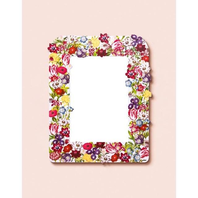 Contemporary Fleur Home x Chairish Liz Marsh Floral Burst Mirror For Sale - Image 3 of 4