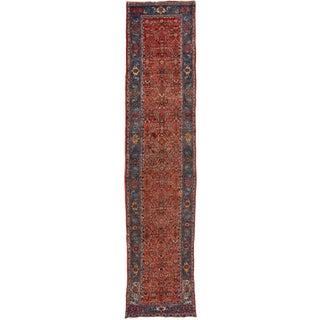 """Apadana-Antique Bidjar Rug, 3'10"""" X 16'2"""""""