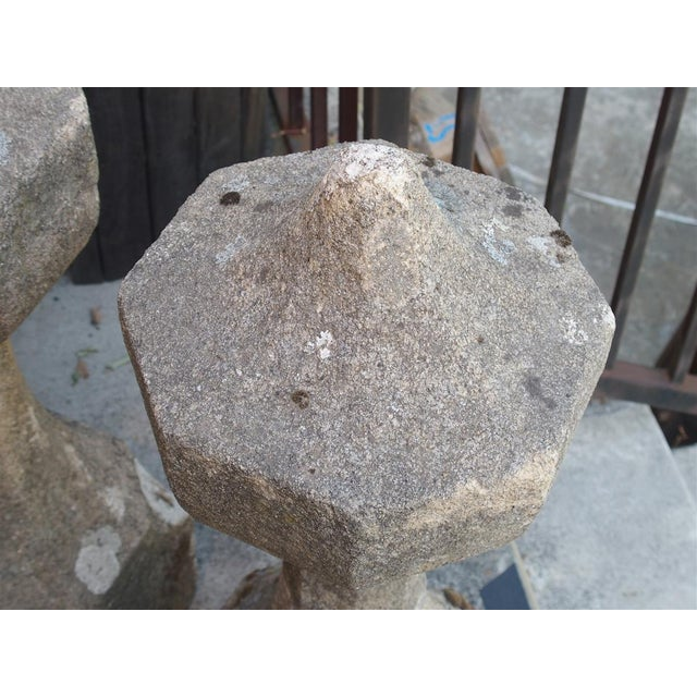17th Century French Granite Garden Posts For Sale In Dallas - Image 6 of 13