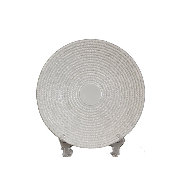 Italian Coiled-Rope Plates - Set of 6 - Image 3 of 5