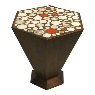 1960s Vintage Tile Accent Table For Sale
