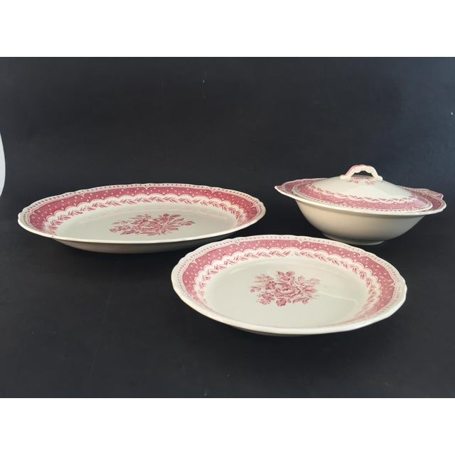 Vintage Avon Pattern Grindley-England Serving Dishes - Set of 3 For Sale In New York - Image 6 of 9