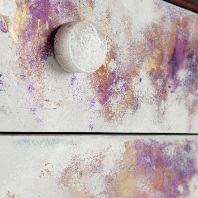 Where Did He Go?, Hand-Painted Chest of Drawers by Atelier Miru For Sale - Image 4 of 7