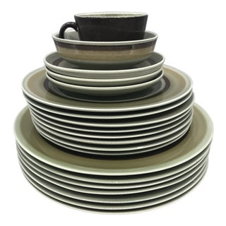 Franciscan Emerald Isle Dinnerware - 22 Pieces For Sale