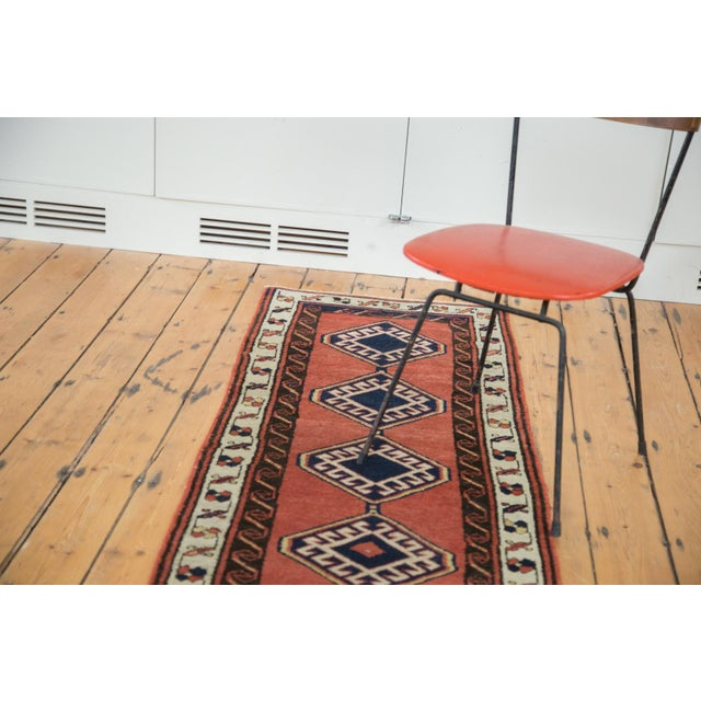 "Vintage Sarab Rug Runner - 2'3"" X 9'4"" For Sale - Image 9 of 9"