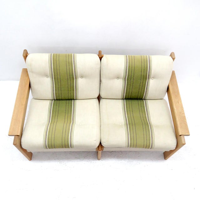 1970's Vintage Bernt Petersen Loveseat Sofa For Sale - Image 10 of 12