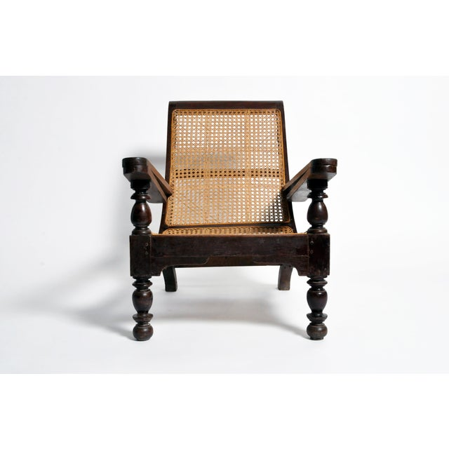 Vintage British Colonial Plantation Chair For Sale - Image 13 of 13