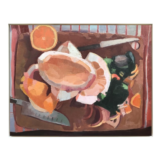 """""""Cutting Board I"""" Framed Oil Painting - Image 1 of 3"""