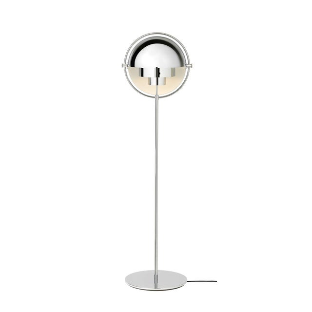 Louis Weisdorf Brass Louis Weisdorf 'Multi-Lite' Floor Lamp For Sale - Image 4 of 7