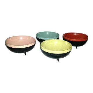1950's Reinecke Therm-O-Bowls - Set of 5