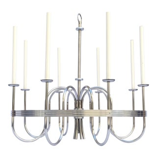 1950s Tommi Parzinger Chandelier For Sale