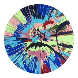 Spin Series II Pink/Blue/Green/Red by Anthony Louis Fahden For Sale