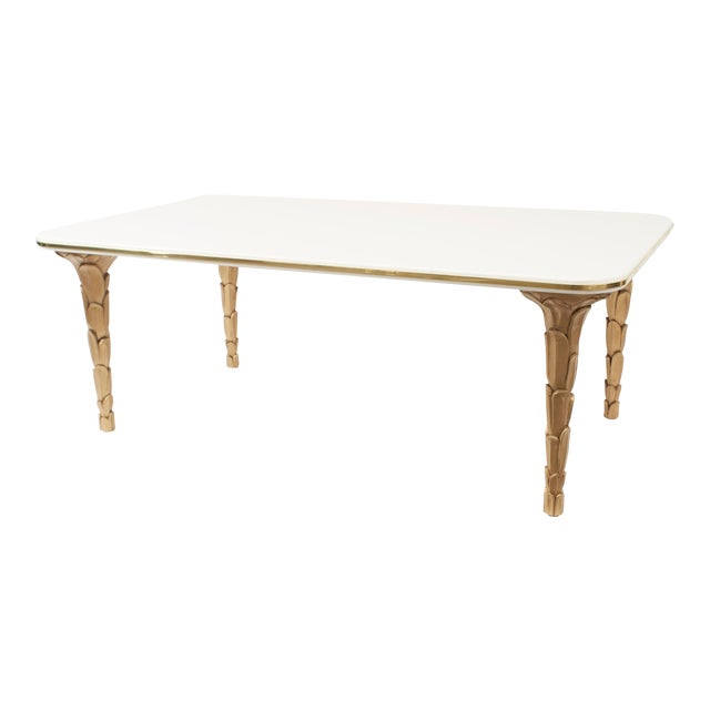 Contemporary Regency Style Coffee Table For Sale