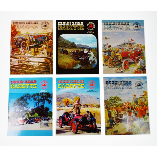 Horseless Carriage Gazette Magazines - 1970 Full Year - Collectible - Image 10 of 10