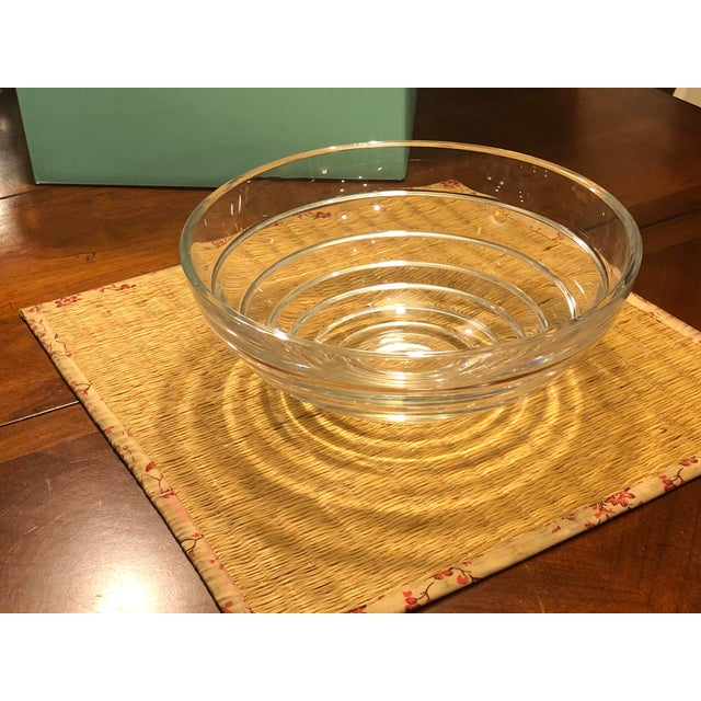 Vintage Tiffany & Co. Cut Crystal Centerpiece Bowl For Sale - Image 11 of 11