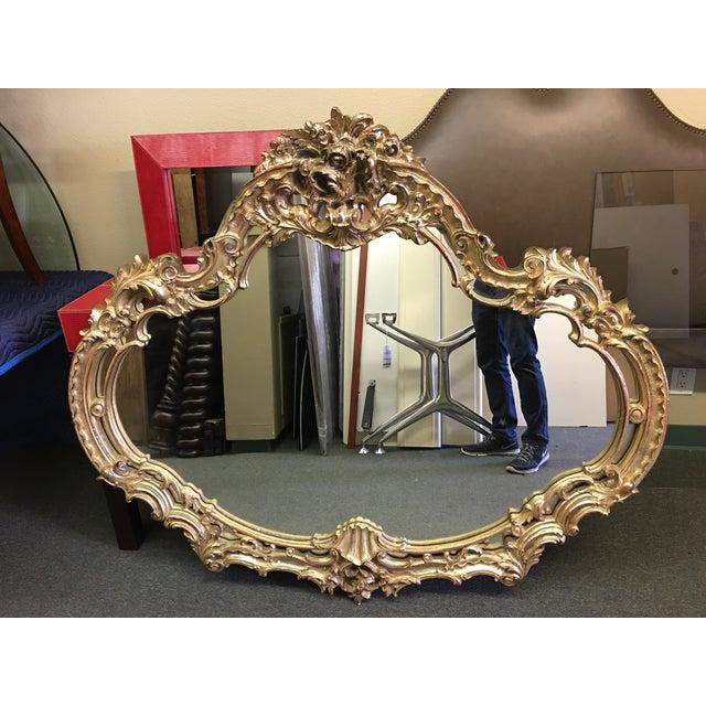 Vintage Turner MFG Company Carved Gilt Mirror - Image 2 of 7