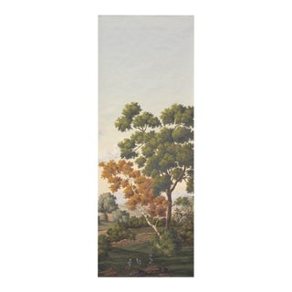 Virginia Hand Painted Scenic Panel For Sale