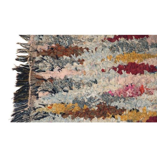 """Vintage Boucherouite Carpet - 5'10"""" X 2'10"""" - Image 2 of 3"""