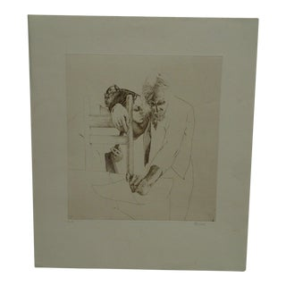 "Limited (4/9) Print ""The Couple"" by Perry Macon Oliver"