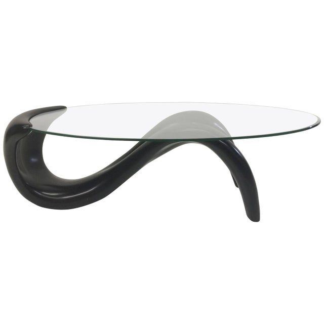 Biomorphic 1980s Coffee Table - Image 1 of 5