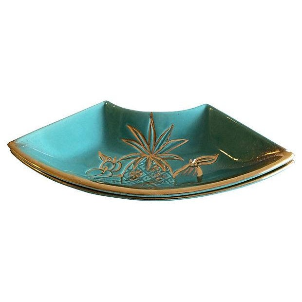 Hoenig Gold Fruit Side Dishes - A Pair - Image 4 of 4