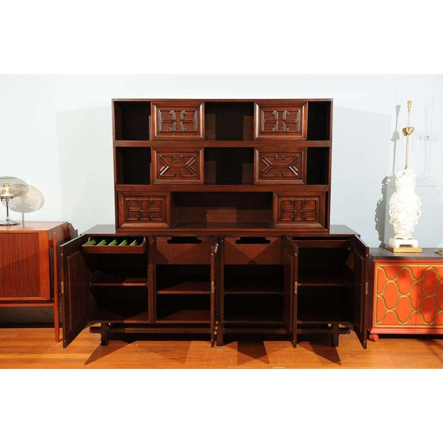 Wood Edmond Spence Buffet For Sale - Image 7 of 11