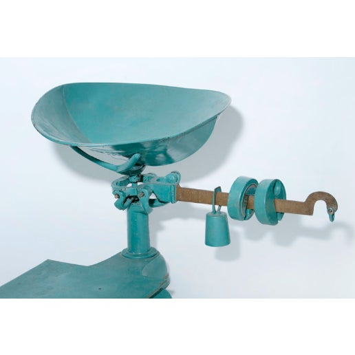 Blue and Gold Mercantile Scale - Image 4 of 4