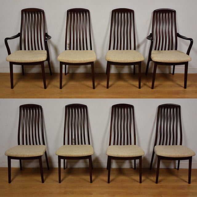 Danish Modern Dining Chair: Danish Modern Dining Chairs - Set Of 8