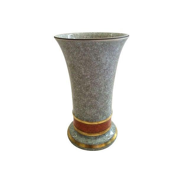 Thorkild Olsen Danish Celadon Vase - Image 1 of 3