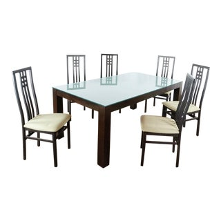 Scandinavian Designs Dining Set - 7 Pieces For Sale
